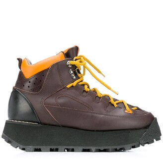 Acne Studios Lace-Up Trekking Boots