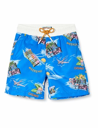Scotch & Soda Boy's Boardshorts with All-Over Print Swim Shorts