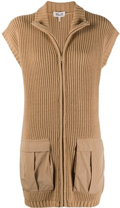 Baum und Pferdgarten Short-Sleeved Zip-Up Cardigan