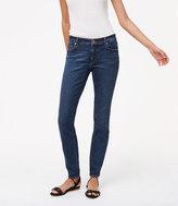 LOFT Tall Curvy Skinny Jeans in Dark Stonewash