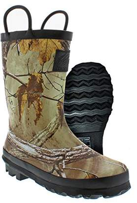 Itasca Boys Kids' Puddle Jumper Rubber Boots