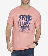 Nautica Signature Graphic Crewneck Short-Sleeve Tee