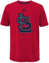 Majestic St. Louis Cardinals Split Series Ultra T-Shirt, Big Boys (8-20)