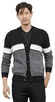 Kenneth Cole Marled Shawl Cardigan Sweater