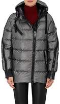 Moncler Women's Liriope Channel-Quilted Tech-Twill Coat