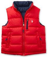 Ralph Lauren 2-7 Reversible Quilted Down Vest