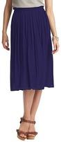 LOFT Pleated Mid Length Skirt