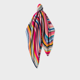 Paul Smith Women's Multi-Colour 'Swirl' Silk Square Scarf