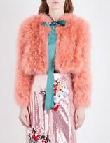 Erdem Ives feather jacket