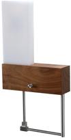 Cubo 1-Light LED Oiled Left Wall Sconce/Reading Light