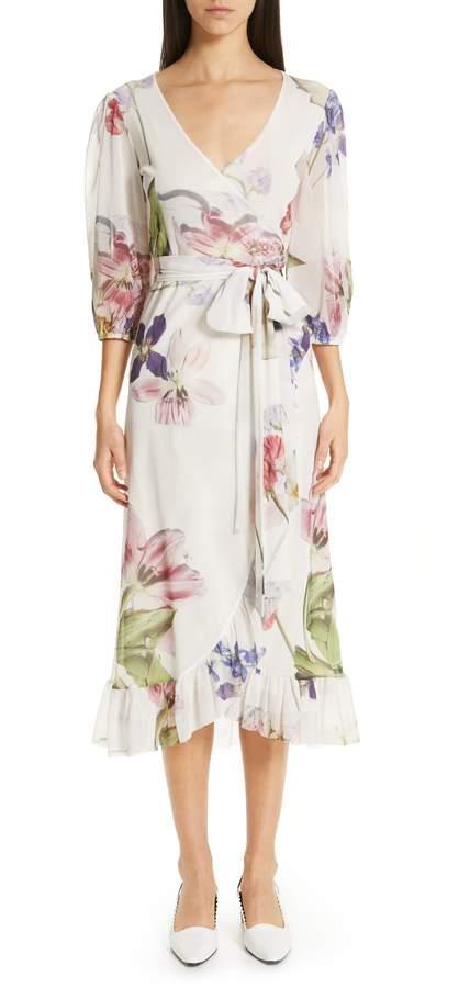 bde3a01b1a Ganni Floral Dress - ShopStyle