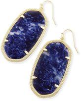Kendra Scott Danielle Statement Earrings in Blue Sodalite