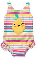 Gymboree Lemon 1-Piece Swimsuit