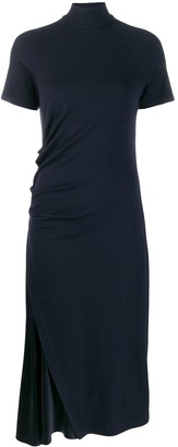Brunello Cucinelli Sleeveless Flared Midi Dress