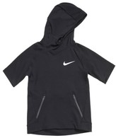 Nike Boy's Dry Hyper Fleece Short Sleeve Hoodie