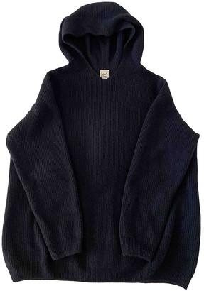 Base Range Navy Wool Knitwear