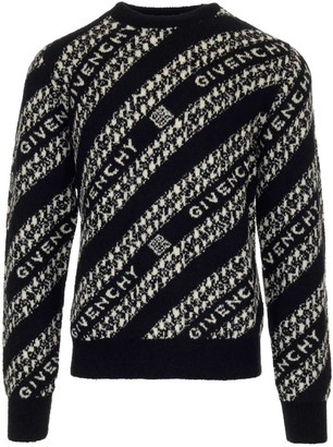 Givenchy Chain Motif Knit Jumper
