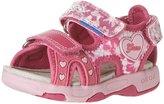 Geox Multy Sandal 2 (Inf/Tod) - Fuchsia/Pink - 25 EU/8.5 US
