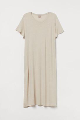 H&M H&M+ Linen-blend dress
