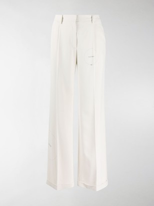 Off-White Cut Here tailored trousers