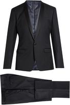 Dolce & Gabbana Shawl-lapel wool and silk-blend tuxedo
