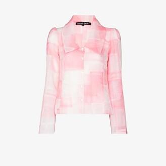 Susan Fang Ruffled Patchwork Jacket