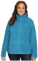Columbia Plus Size Fast TrekTM II Full Zip Fleece Jacket