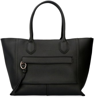 Longchamp Mailbox Pebbled Leather Tote