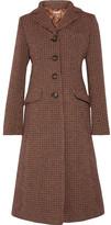 Miu Miu Tweed Coat - Brown