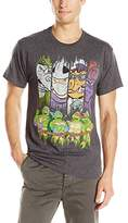 Nickelodeon Teenage Mutant Ninja Turtles Men's TMNT Logo T-Shirt
