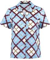 Marc by Marc Jacobs Checked Cotton-Poplin Shirt