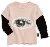 Nununu Infant Girl's Eye Patch Graphic Tee