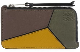 Loewe Puzzle Coin Leather Card Holder