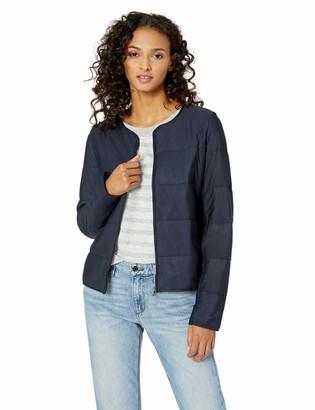 Majestic Filatures Women's Viscose Quilted Long Sleeve Bolero Jacket