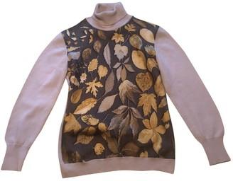 Hermes Ecru Silk Knitwear for Women Vintage