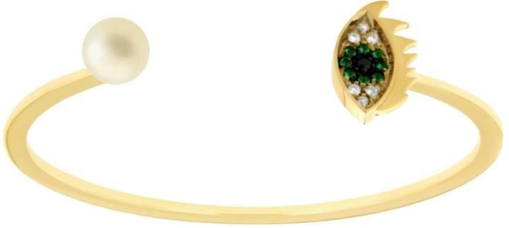 Delfina Delettrez Eyes On Me Emerald Bracelet