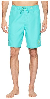 O'Neill Santa Cruz Solid 2.0 19 Boardshorts (Aqua) Men's Swimwear