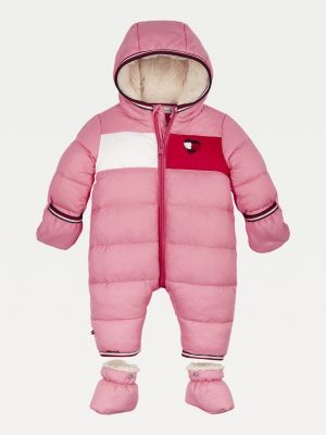 Tommy Hilfiger Padded Colour-Blocked Ski Suit