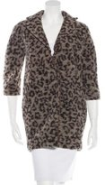 Thakoon Wool Printed Coat
