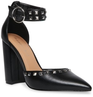 Madden-Girl Saxxon-s Studded Two-Piece Pumps