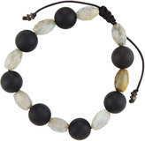 Armenta Labradorite & Onyx Beaded Bracelet