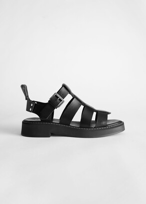 And other stories Chunky Leather Gladiator Sandals