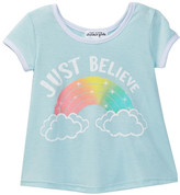 Ten Sixty Sherman Just Believe Double Scoop Tee (Little Girls)