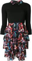 Frankie Morello ruffled layer mini dress