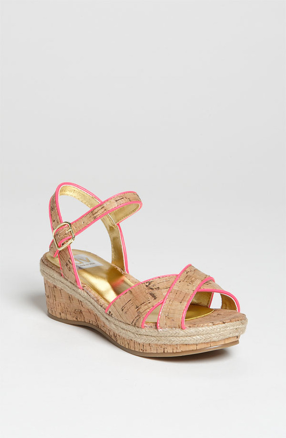 Dolce Vita 'Callie' Wedge Sandal (Toddler, Little Kid & Big Kid)