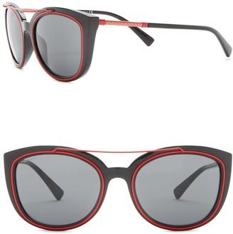 Versace 56mm Cat Eye Sunglasses