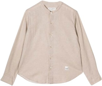 Paolo Pecora Kids Collarless Shirt