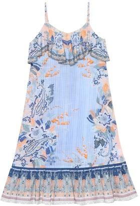 Camilla Kids Printed cotton maxi dress
