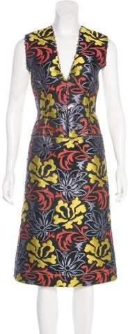 Derek Lam Jacquard Sheath Dress w/ Tags