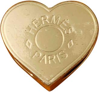 Hermã ̈S HermAs Anneau de Foulard Gold Metal Scarves